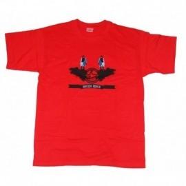 Tee Shirt Breizh Rider Gwendrez Rouge