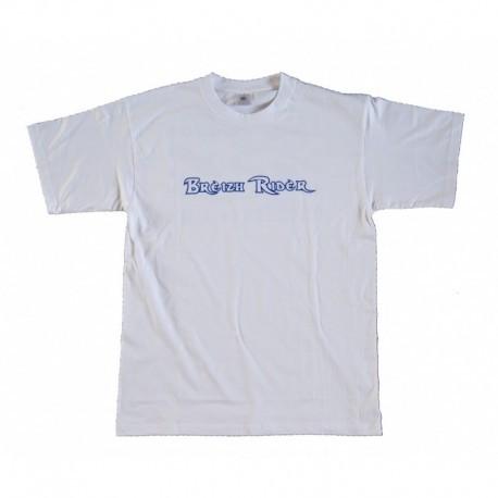 Tee Shirt Breizh Rider Trezmalaouen Blanc