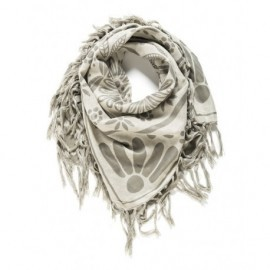 Andrea Solid Black Rip Curl Scarf