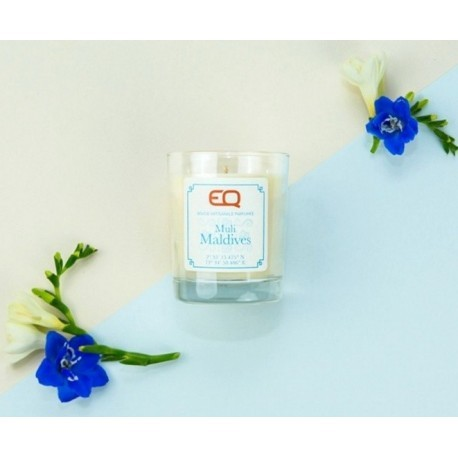 Natural Scented Candle EQ Muli Maldives