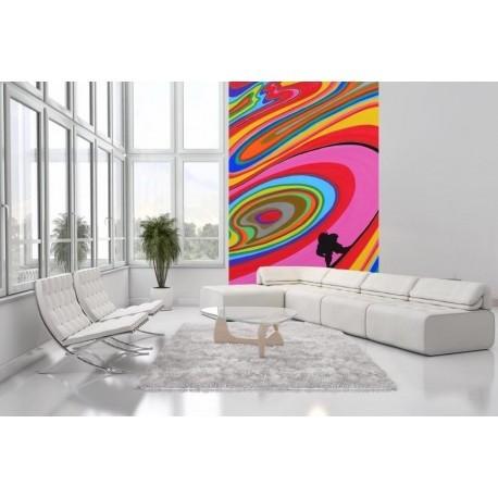 Tapisserie Murale XXL OLA KETAL Signé Rémi Bertoche Surf 002