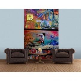 Tapisserie Murale XXL OLA KETAL Signé Rémi Bertoche Surf 004