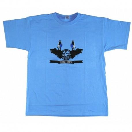 Tee Shirt Breizh Rider Gwendrez Bleu Ciel Série 2