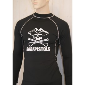 Lycra Surf Pistols Homme Airdry paddle for Life Long Sleeves