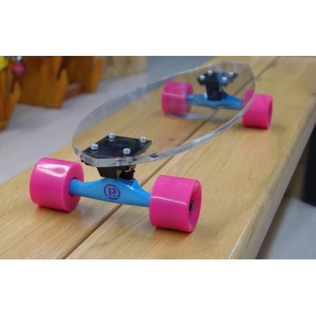 Skate Cruiser Park's Skateboard Plexiglass Pink