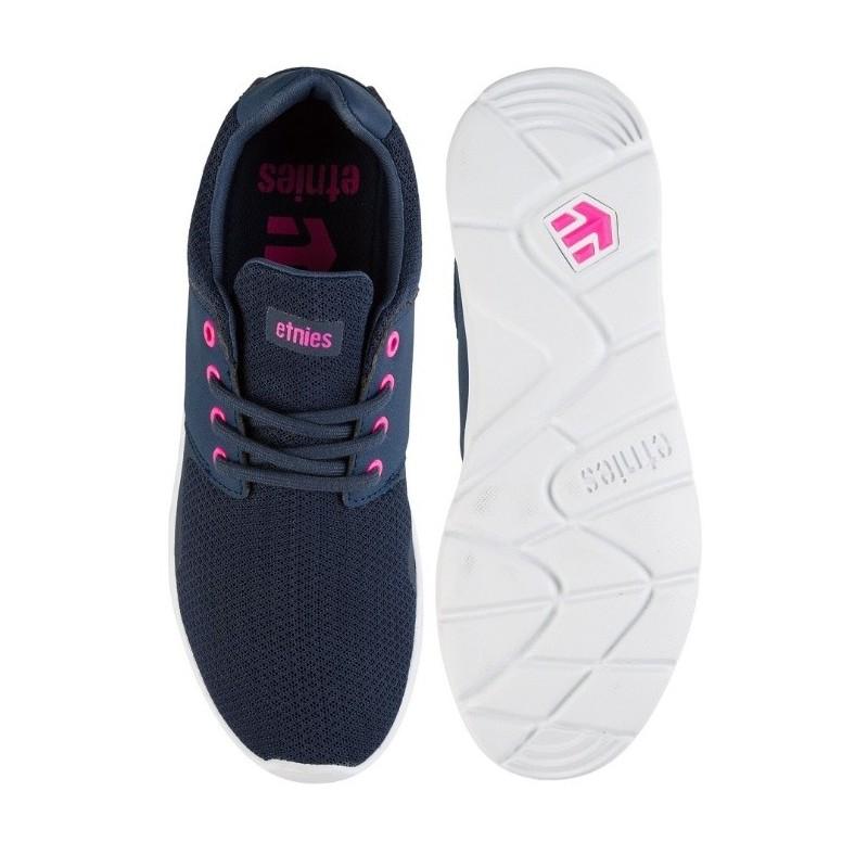 11b1c95158c1d Chaussure Femme ETNIES Scout XT Wos Navy Pink - Breizh Rider