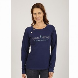 Breizh Vera Electric Blue Sweatshirt
