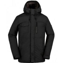 Man Coat Volcom Monrovia Ins Black
