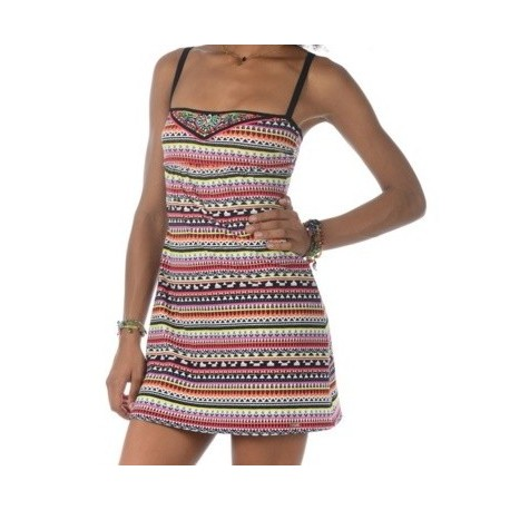 Dress Banana Moon Beachwear Red Iskia Tamatoa