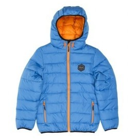Rip Curl Junior French Blue Puffer Jacket Two