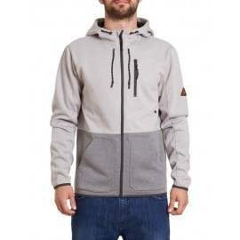 Billabong Fleece Ashwood Zip Light Grey