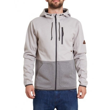 Veste Billabong Ashwood Zip Light Grey