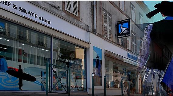 Bienvenue chez Breizh Rider Surf & Skate Shop